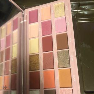Strawberries and cream makeup revolution palette